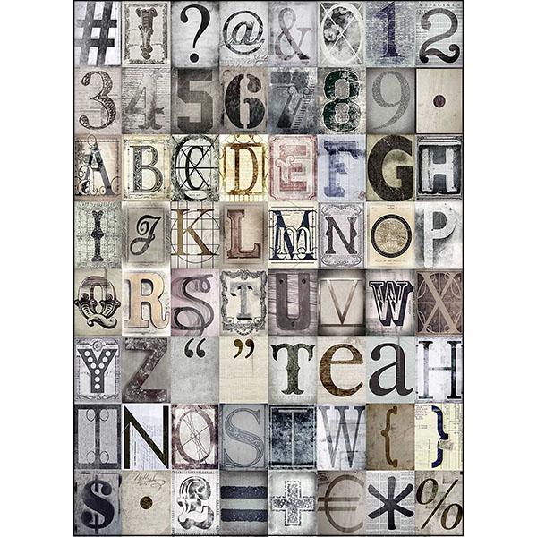 Creative Collage Typo